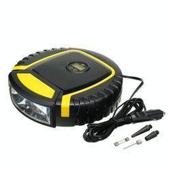 Car Air Pump Lighted Tire Pressure Test Auto Portable