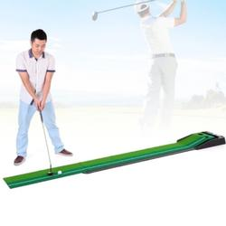 Indoor 3m Golf Putting Trainer with Double Holes