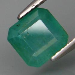 Stunning 2.25ct vivid green Colombian Emerald