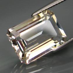 Magnificent 7.44ct diamond white Topaz