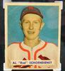 1949 Red Schoendienst, Cardinals Graded Baseball Card