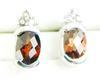 10K Garnet & Spinel Stud Earrings