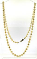 Simple 6.5mm Pearl Necklace