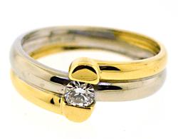 Beautiful 18kt Diamond Ring
