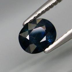 Heated only 1.13ct Bangkaja Sapphire