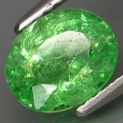 Simply Amazing 1.65ct vivid green Tsavorite Garnet