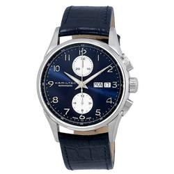 New Mens Hamilton Blue Leather, Swiss, Chronograph