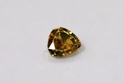 Alluring Natural Light Brown Diamond - 0.36 ct.