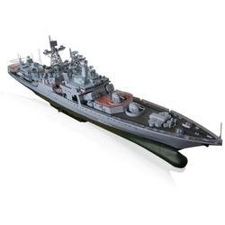 Missile Destroyer Battleship Model Building Toys
