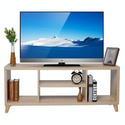 TV Cabinet Stand Bookshelf with 4 Open Layers