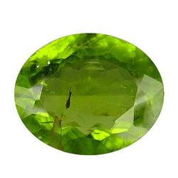 Large rich top Burma green 5.76ct Peridot