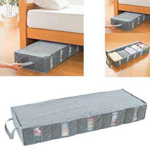 53L Under Bed Storage Bag Organizer Space Saving