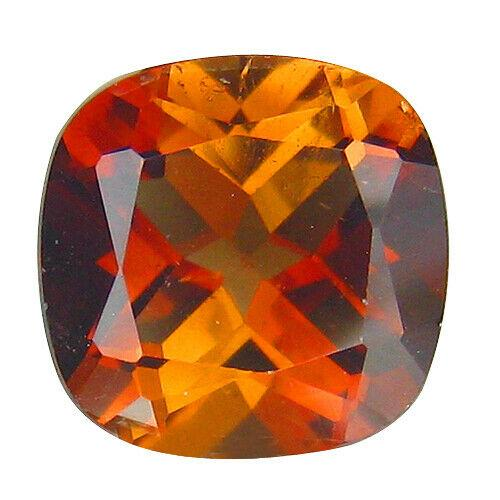 Rich 3.69ct deep colored Imperial Topaz