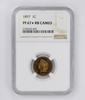PF67 STAR CAMEO 1897 Indian Head Cent - NGC Graded - RARE
