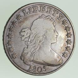 1803 Draped Bust Silver Dollar - Circulated