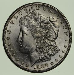 1886-S Morgan Silver Dollar - Uncirculated