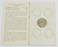 1937 Roanoke Island Commemorative Half Dollar With Original Packaging