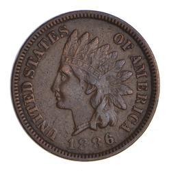 1886 Indian Head Cent - Sharp