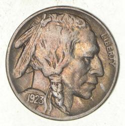 1923 Indian Head Buffalo Nickel