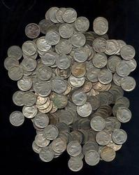 Giant lot of 375 assorted Full Date Buffalo Nickels