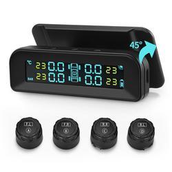 Solar Tire Pressure Monitor System LCD Screen