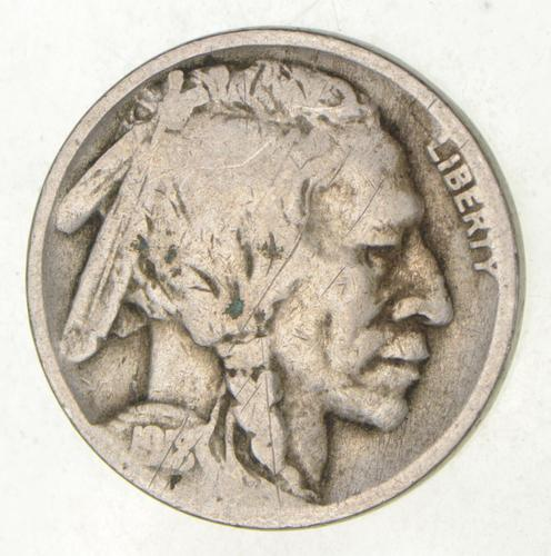 1918/17-D Indian Head Buffalo Nickel - ERROR