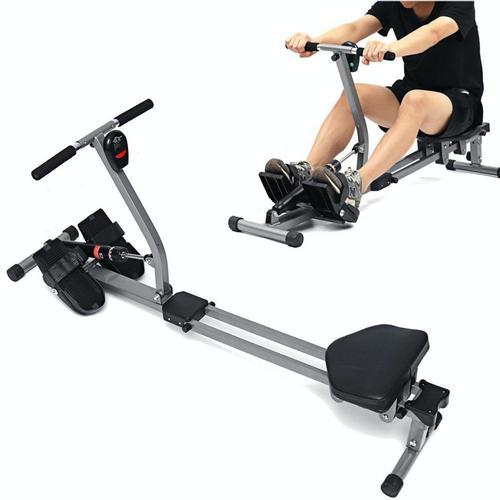 12 Level Fitness Rowing Machine Cardio Sport Equipment