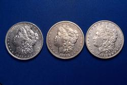 1882 And 1882 O & S Morgans From A Near Full Set of Morgans