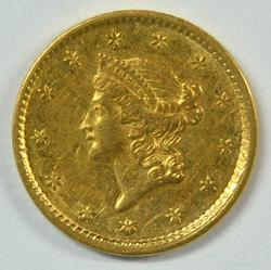 Nice-looking 1851 US Type One $1 Gold Piece