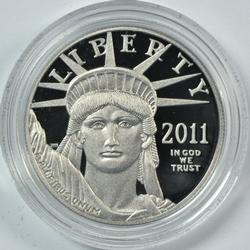 Special Gem PRF 2011 $100 Plat Eagle. Preamble Series