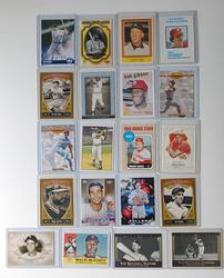 Collectible Lot Of 20 Baseball Hall Of Fame Members!