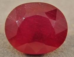 Stunning 4.00 Carat Ruby Loose Natural Gemstone