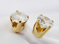 Timeless .8 TW Diamond Stud Earrings in 14K