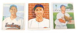 3 Bowman Gum 1950 Baseball Cards