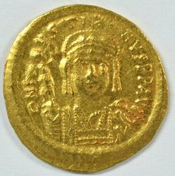 Great Byzantine Gold Solidus of Justin II, 565-578 AD