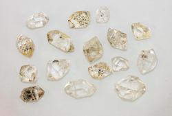 Herkimer Diamond - Lot of 17 with Double Terminations
