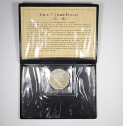 1875-CC Seated Liberty Silver Trade Dollar