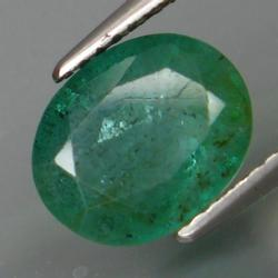 Rich color in this 2.64ct natural Colombian Emerald