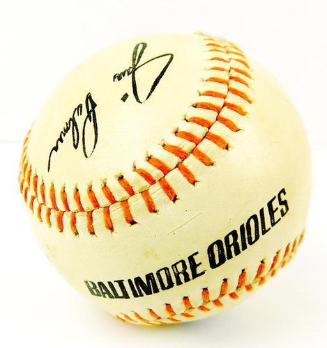 Baltimore Orioles Autographed Baseball