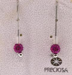 Preciosa Raw Tech Earrings