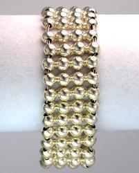 Cool Bead-Mesh Bracelet in Sterling Silver