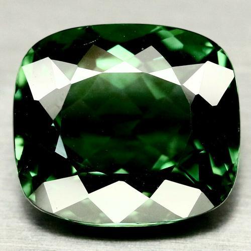 Pristine 38.45ct AAA created green Amethyst