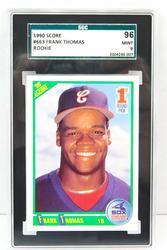 Frank Thomas 1990 Rookie Baseball Card, MT 9
