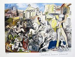 Pablo Picasso, Rape Of The Sabine Women