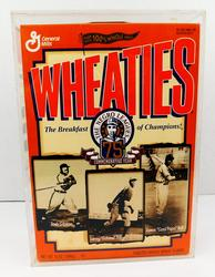 Wheaties 75th Commemorative Negro Leagues Cereal Box