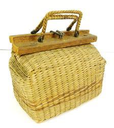 Wonderful Small Vintage Cricket Basket