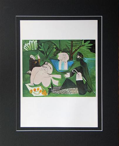 Pablo Picasso, From 'Les Dejeuners' Suite