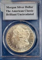 1880-S MORGAN DOLLAR PCGS GRADED BRILLIANT UNCIRCULATED