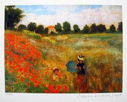 Claude Monet, Poppies Near Aegenteuil
