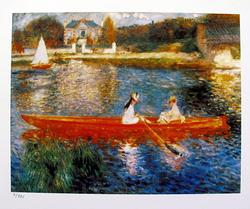 Pierre Auguste Renoir, The Skiff